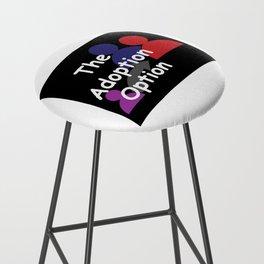 """""""The Adoption Option"""" TV Show Logo Bar Stool"""