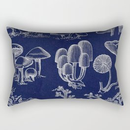 Fungus And Lichen Chart Rectangular Pillow
