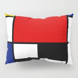 Piet Mondrian Pillow Sham