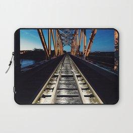 Railroad in Twilight Laptop Sleeve