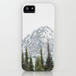 Grand Teton National Park Adventure III - Wanderlust Mountains iPhone Case