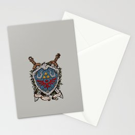 The shield Stationery Cards