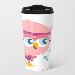 Talkative owl Metal Travel Mug