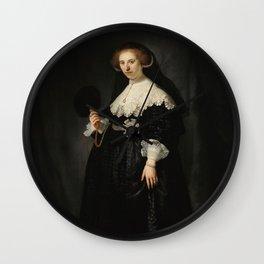 Oopjen Coppit - Rembrandt van Rijn (1634) Wall Clock