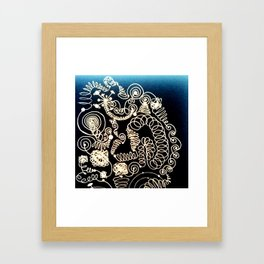 Black Book Series - Endless 02 Framed Art Print