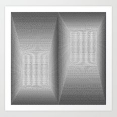 The Binary Rooms Art Print