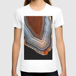 Layered agate geode 3163 T-shirt