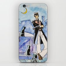 Corto Maltese with cats iPhone Skin