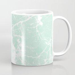 Modern vintage mint white elegant marble Coffee Mug