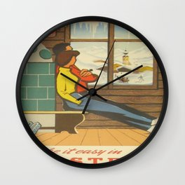 Vintage poster - Austria Wall Clock