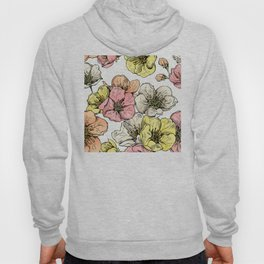 Colorful Poppies Hoody