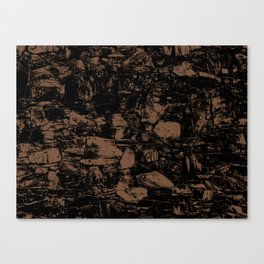 Toffee Abstract Canvas Print