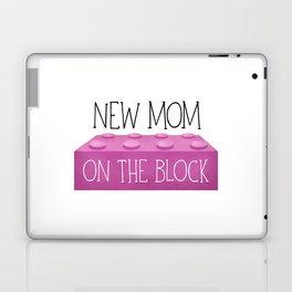 New Mom On The Block Laptop & iPad Skin
