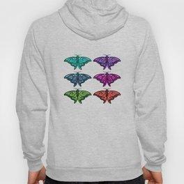 Technicolor Moth Collection Hoody