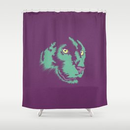 Panther Alt Shower Curtain