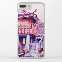 Teahouse Clear iPhone Case