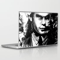 dexter Laptop & iPad Skins featuring Dexter by RebeccaWeaver