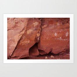 Rock Art Art Print