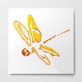 Dragonfly an insect fully inspiring Metal Print