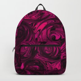 Berry Fuchsia Roses Backpack
