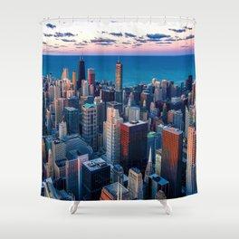 City Skyline Shower Curtain
