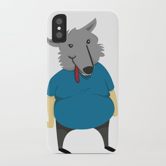 Wolfman iPhone Case