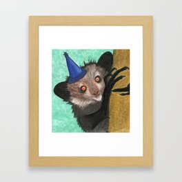 All in favor of a party? Aye aye! Framed Art Print