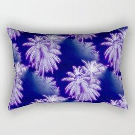 Palm Trees Coastal Evening Rectangular Pillow