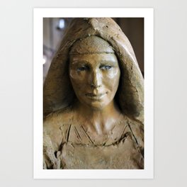 Holy Mary, Mother of God Art Print