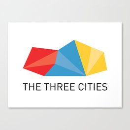 THE THREE CITIES Canvas Print