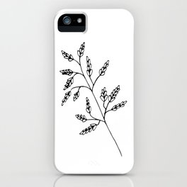 Branch White iPhone Case
