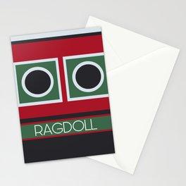 Ragdoll Boat Stationery Cards