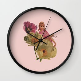 Buy Yourself Flowers Wall Clock
