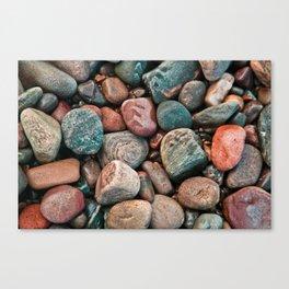 Pebbles of Isle of Skye Canvas Print