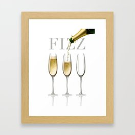 Fizz Framed Art Print