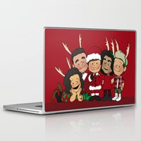 liam payne Laptop & iPad Skins featuring It's Christmas, Liam Payne by Ashley R. Guillory