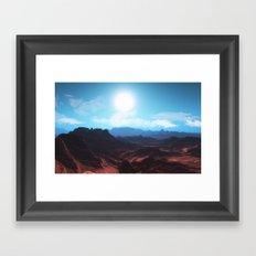 Mountain landscape II Framed Art Print