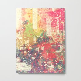 Street of London3 Metal Print