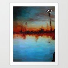 North of Edens I Art Print