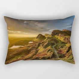 Scotland Landscape Mountains Rectangular Pillow