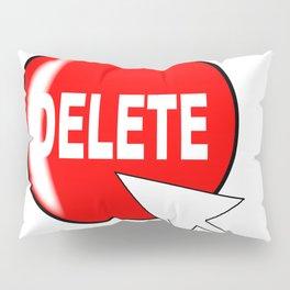 Computer Icon Delete Pillow Sham