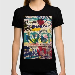 Urban Graffiti Paper Street Art T-Shirt