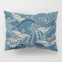 Blue Mountains Pillow Sham