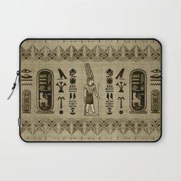 Egyptian Amun Ra - Amun Re Ornament Laptop Sleeve