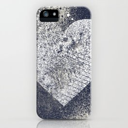 Safe From Harm | graffiti spray paint heart painting iPhone Case
