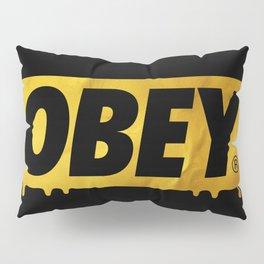 OBEY Bleeding Gold Pillow Sham