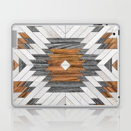 Urban Tribal Pattern 8 - Aztec - Wood Laptop & iPad Skin