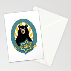 Strength of the bear! Stationery Cards