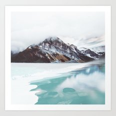 Canadian Mountains Art Print