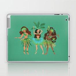 Luau Girls on Mint Laptop & iPad Skin